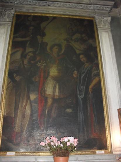 dipinto Arcangelo Raffaele