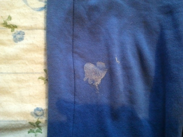 a heart on the coverlet image
