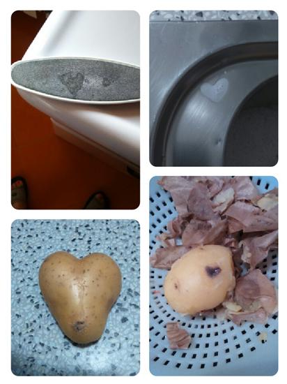 foto di cuori splendidi ritrovati in cucina
